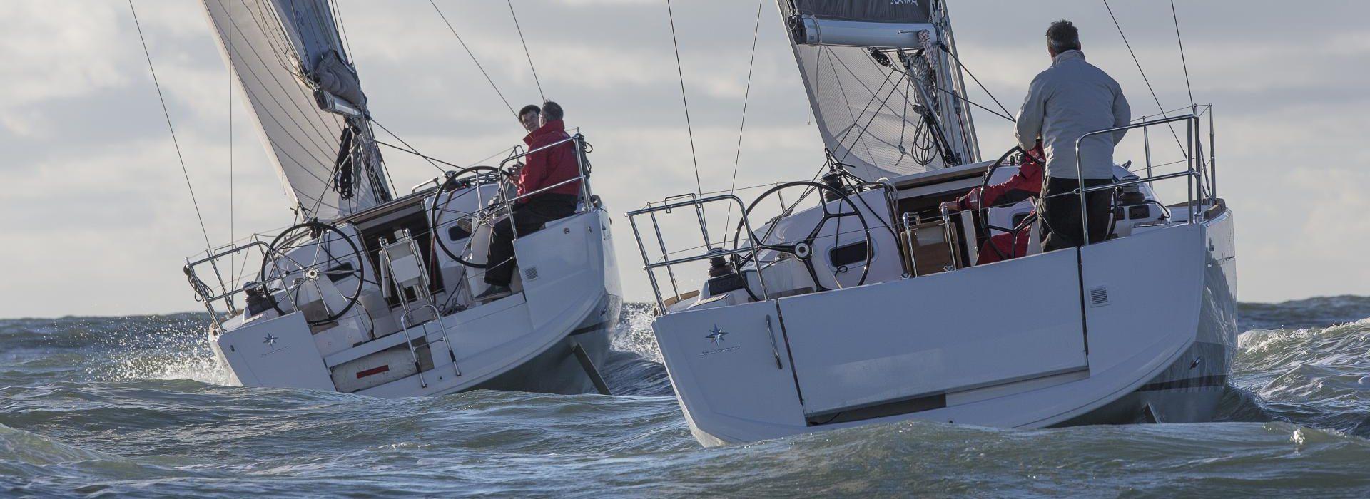 Jenenneau Sun Odyssey 349 two cruising