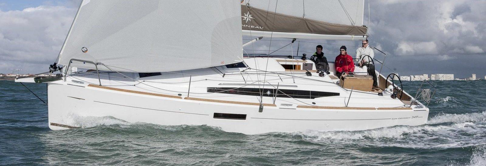 Jeanneau 349 Sun Odyssey sailing charter