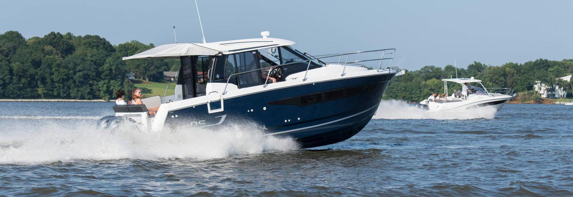 jeanneau outboard NC 895 cruising