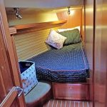 Hunter 49 cabin forward port