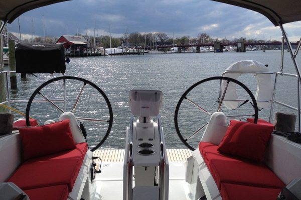 2015 jeanneau 349 Funk349 cockpit