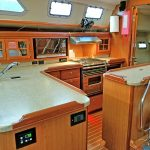 Hunter 49 galley